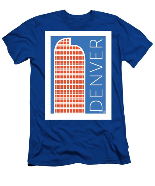 Denver Cash Register Bldg/blue Men's T-Shirt (Athletic Fit)