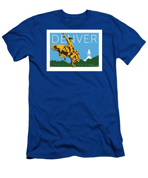 Denver Civic Center Park Men's T-Shirt (Athletic Fit)