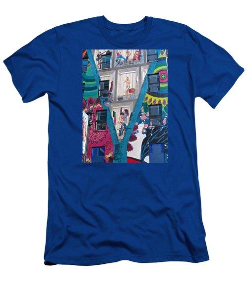 Desaigual Pop Men's T-Shirt (Athletic Fit)