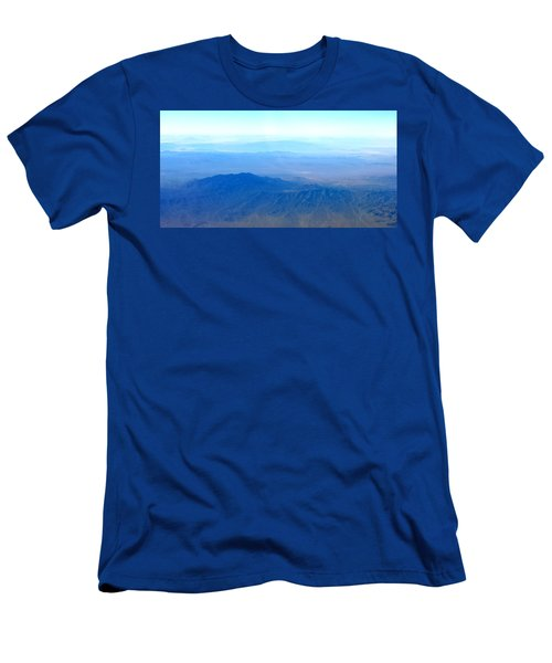 Desert Blues Men's T-Shirt (Athletic Fit)