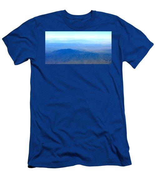Desert Blues Men's T-Shirt (Athletic Fit)