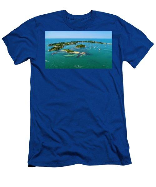 Devils Foot Island Men's T-Shirt (Athletic Fit)