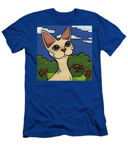 Devon Rex Men's T-Shirt (Athletic Fit)