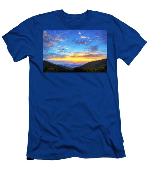 Digital Liquid - Good Morning Virginia Men's T-Shirt (Athletic Fit)