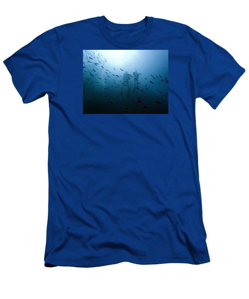Diving With Fishes Men's T-Shirt (Athletic Fit)