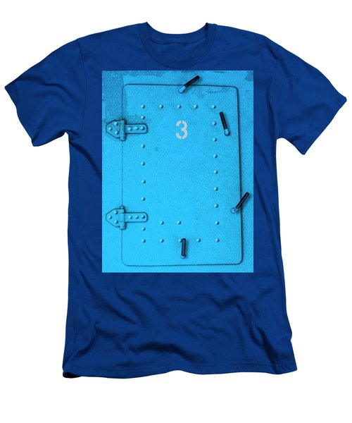 Men's T-Shirt (Athletic Fit) featuring the photograph Door Number 3 by Paul Wear