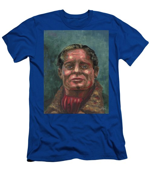 Douglass Bader Men's T-Shirt (Athletic Fit)