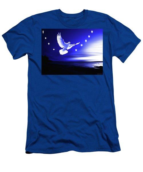 Dove Delight Men's T-Shirt (Athletic Fit)