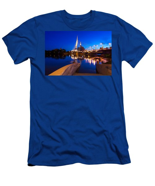 Downtown Winnipeg Men's T-Shirt (Athletic Fit)