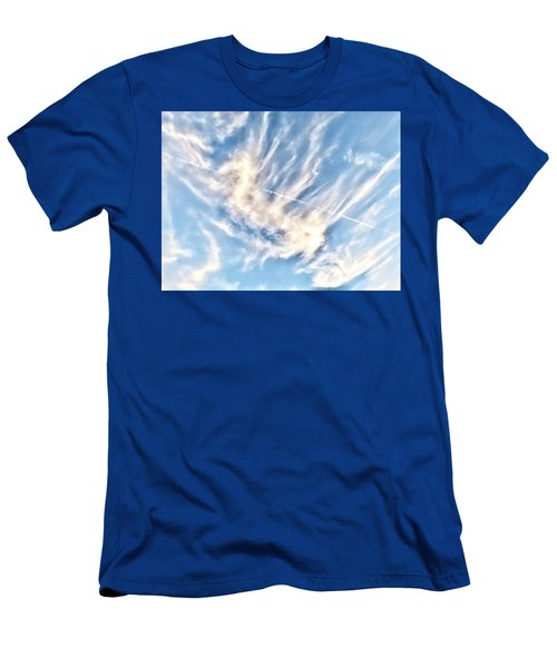 Dragon In The Flight Path Men's T-Shirt (Athletic Fit)