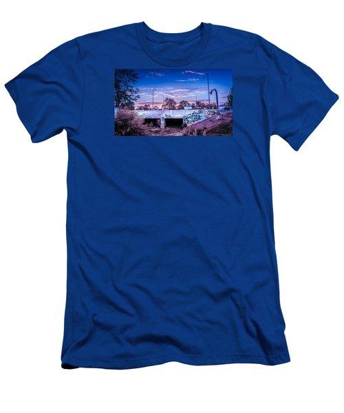 Drain_sunset.2 Men's T-Shirt (Athletic Fit)