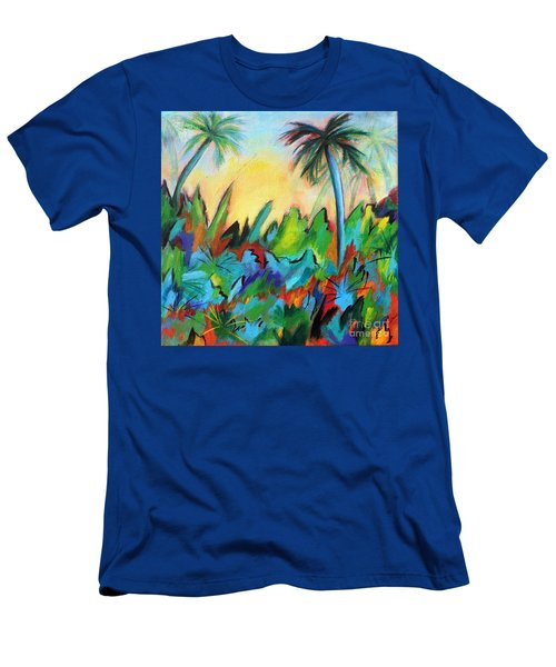 Drawn By The Color Men's T-Shirt (Slim Fit) by Elizabeth Fontaine-Barr