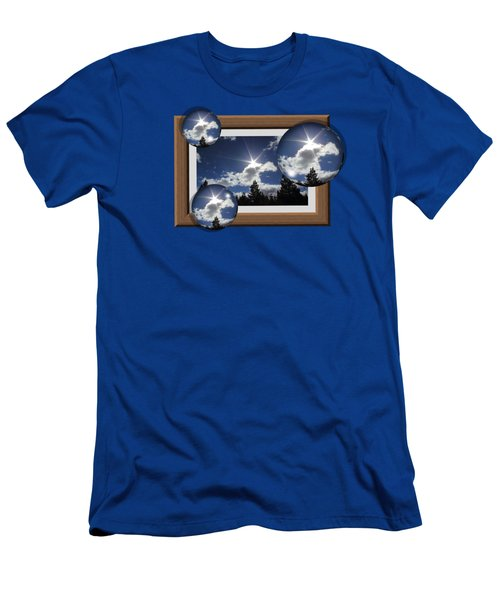Men's T-Shirt (Athletic Fit) featuring the photograph Drifting Away by Shane Bechler