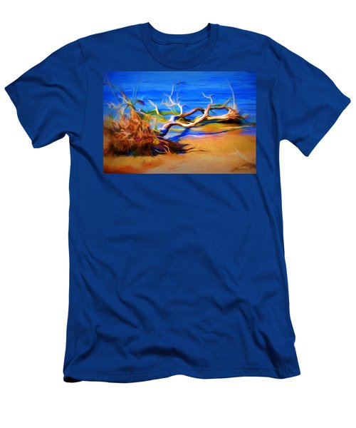 Men's T-Shirt (Slim Fit) featuring the photograph Driftwood by Ludwig Keck