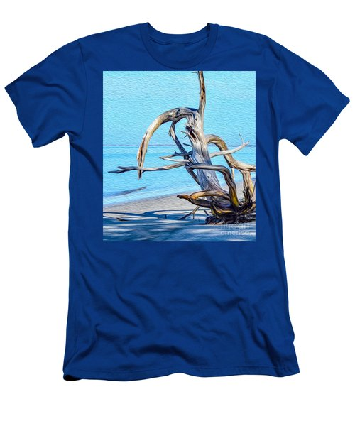 Driftwood On Jekyll Men's T-Shirt (Athletic Fit)