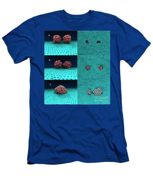 Drilling Of Graphene Nanoparticles Men's T-Shirt (Athletic Fit)