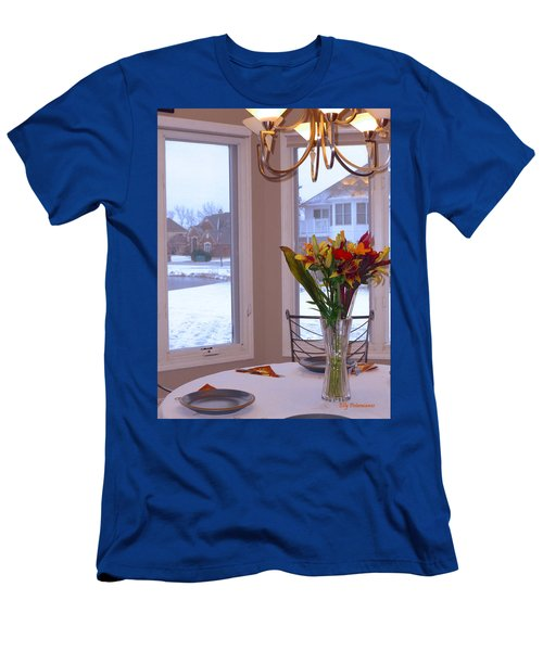Dusk Dining View Men's T-Shirt (Athletic Fit)