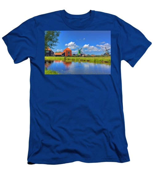 Dutch Countryside Men's T-Shirt (Athletic Fit)