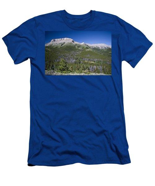 Ear Mountain, Montana Men's T-Shirt (Athletic Fit)