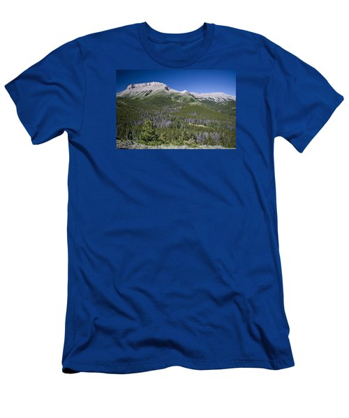 Ear Mountain, Montana Men's T-Shirt (Athletic Fit)