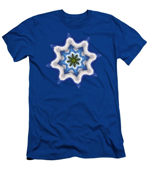 Earth Through A Star Men's T-Shirt (Athletic Fit)