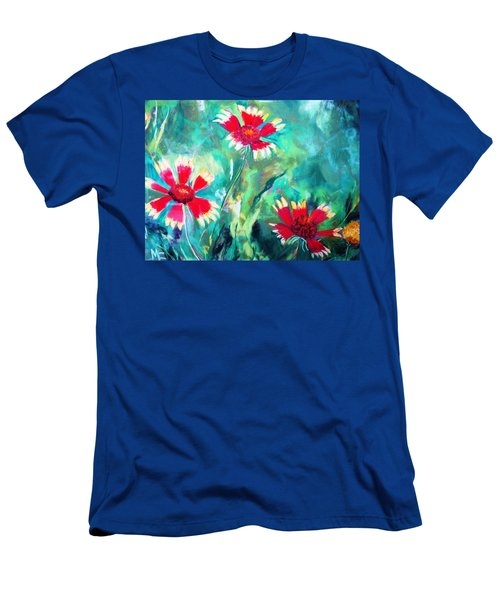East Texas Wild Flowers Men's T-Shirt (Athletic Fit)