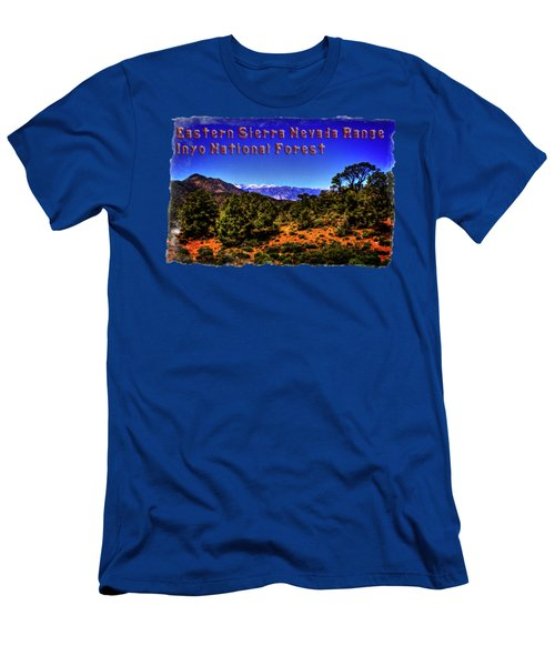 Eastern Sierras From The White Mountains Men's T-Shirt (Athletic Fit)