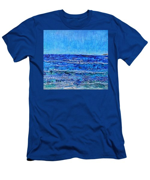 Ebbing Tide Men's T-Shirt (Slim Fit) by Regina Valluzzi