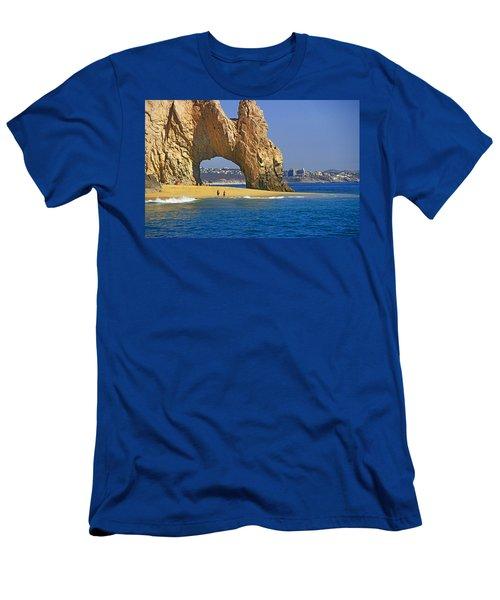El Arco, Cabo San Lucas Men's T-Shirt (Athletic Fit)