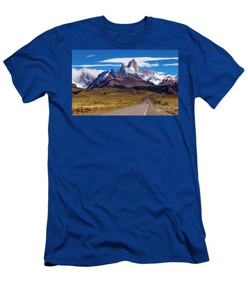 El Chalten 0001 Men's T-Shirt (Athletic Fit)