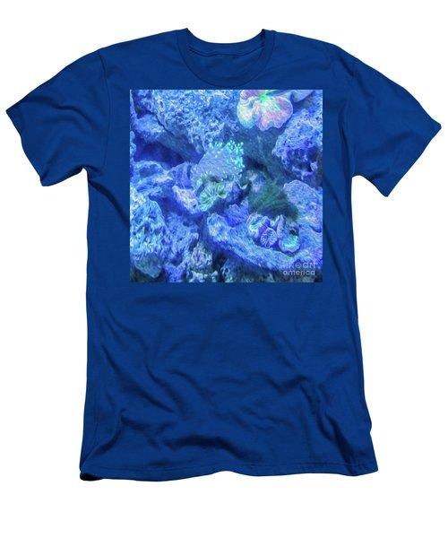 Electric Coral Men's T-Shirt (Athletic Fit)