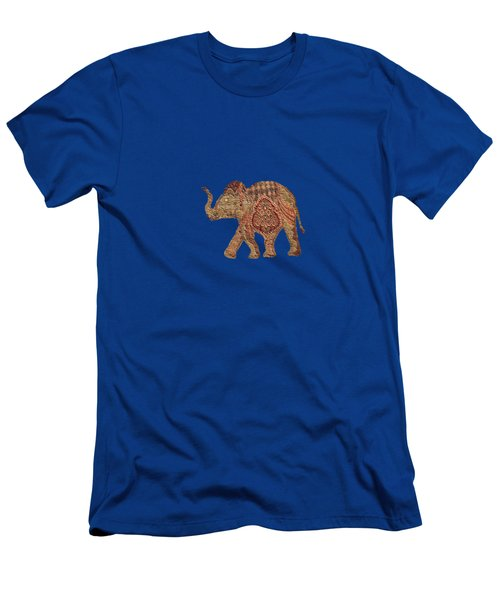 Elephant Baby Men's T-Shirt (Athletic Fit)