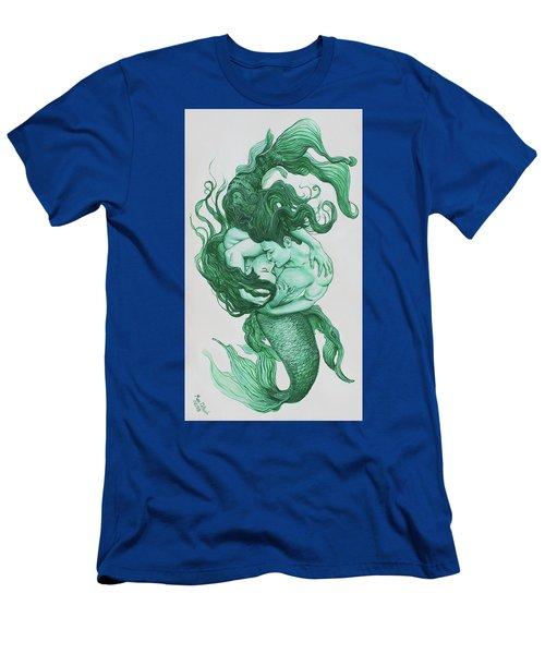 Embracing Mermen Men's T-Shirt (Athletic Fit)