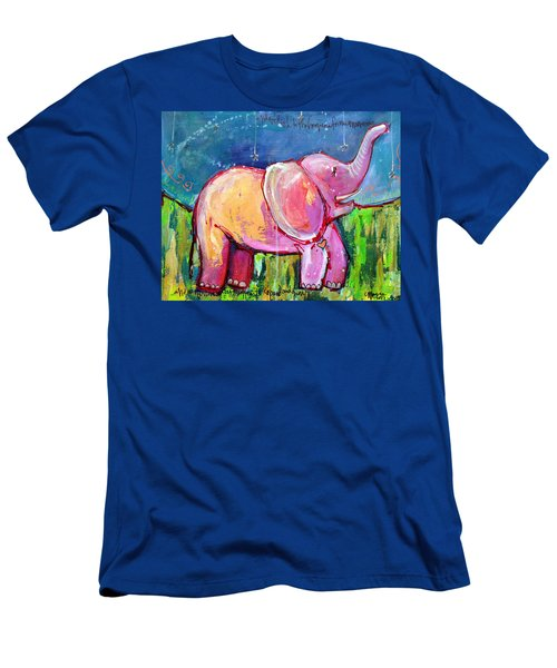 Emily's Elephant 2 Men's T-Shirt (Athletic Fit)
