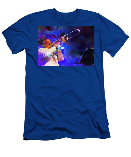 Emperor Of Salsa Dura, Jimmy Bosch  Men's T-Shirt (Athletic Fit)