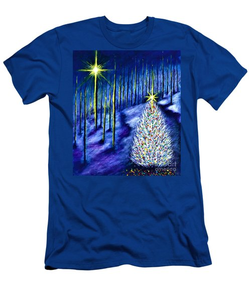 Enchanted Woods  Men's T-Shirt (Athletic Fit)