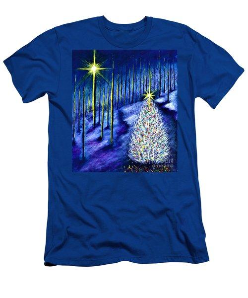 Enchanted Woods  Men's T-Shirt (Athletic Fit)