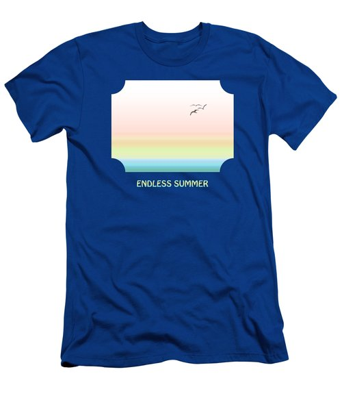 Endless Summer - Blue Men's T-Shirt (Athletic Fit)