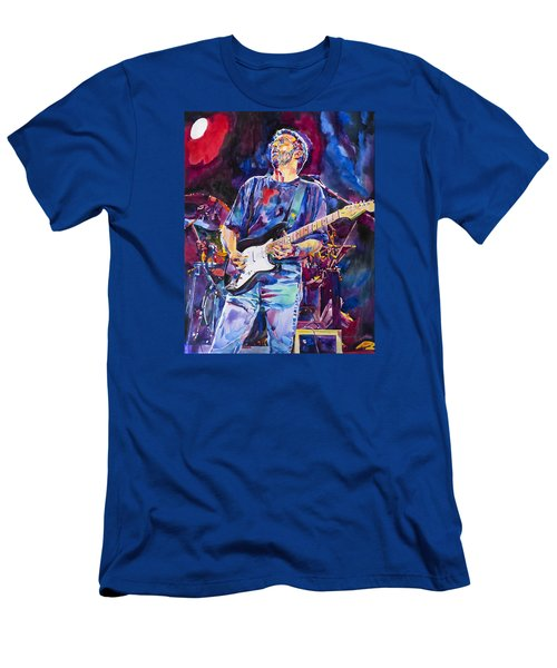 Eric Clapton And Blackie Men's T-Shirt (Slim Fit) by David Lloyd Glover
