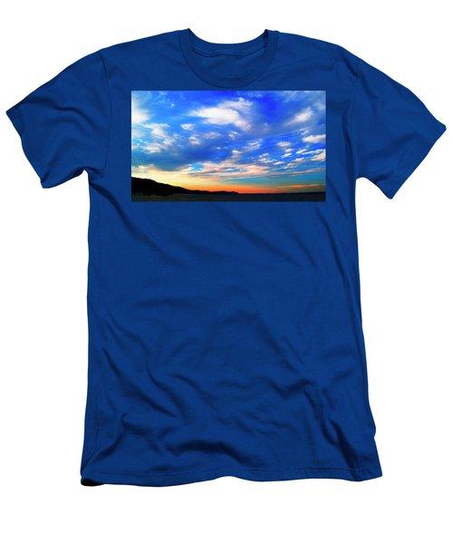 Estuary Skyscape Men's T-Shirt (Athletic Fit)