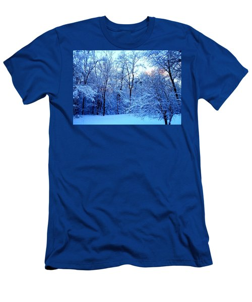 Ethereal Snow Men's T-Shirt (Athletic Fit)