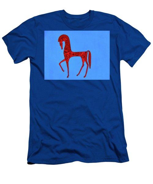 Etruscan Horse #2 Men's T-Shirt (Athletic Fit)