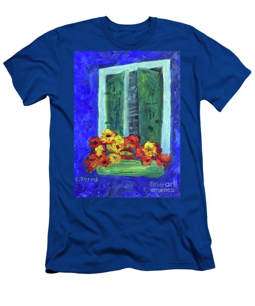 European Window Box Men's T-Shirt (Athletic Fit)