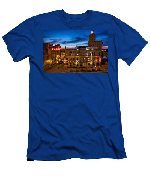 Evening At Pabst Men's T-Shirt (Athletic Fit)