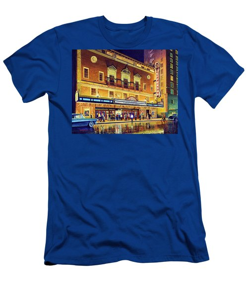Evening At The Jefferson Men's T-Shirt (Athletic Fit)