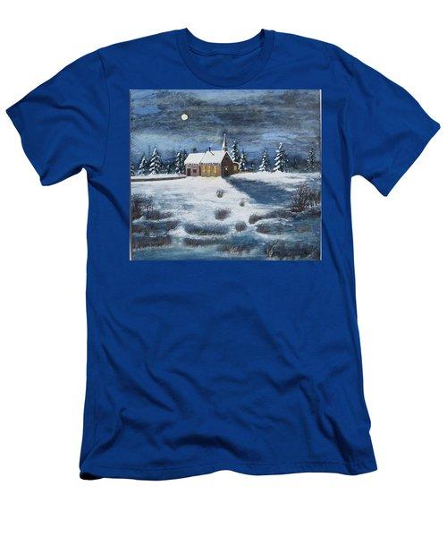 Evening Prayers Men's T-Shirt (Athletic Fit)