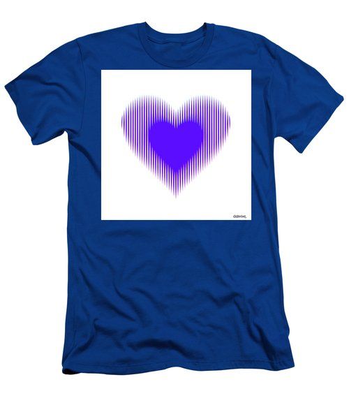 Expanding - Shrinking Heart Men's T-Shirt (Athletic Fit)