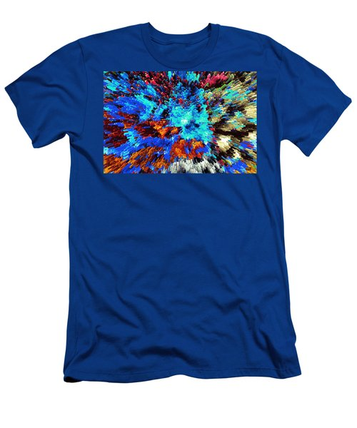 Explosion Of Color Men's T-Shirt (Athletic Fit)