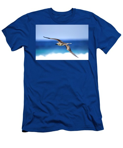 Eye Contact Men's T-Shirt (Slim Fit) by Sean Davey