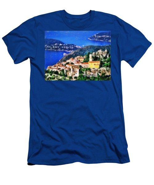 Eze And Cap Ferrat Men's T-Shirt (Athletic Fit)